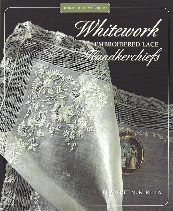 Whitework Embroidered Lace Handkerchifs